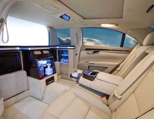 New Limousines and Executive SUVs CEO